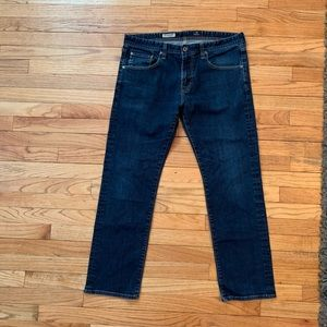 Mens AG  The match box Slim Straight Jeans Size 36